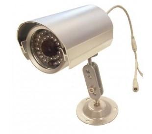 Cámara de vigilancia 36 led ccd 6 mm sensor 1/3 hermético