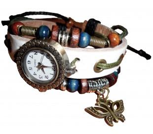 Reloj vintage con MARIPOSA esfera de mariposa retro reloj redondo