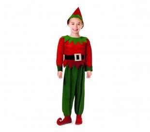 9572ece225fee 538087 Disfraz para niños de DUENDE con gorra incluida varias tallas