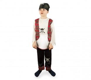 b62e47d779942 227707 Disfraz de carnaval para niños motivo PIRATA con pañuelo incluido ...