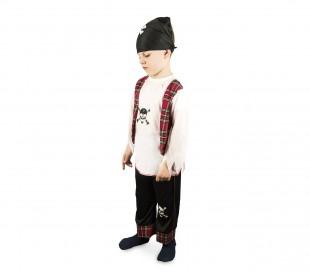 cfcc93eec8fe3 ... 227707 Disfraz de carnaval para niños motivo PIRATA con pañuelo incluido