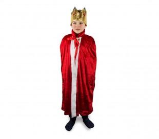 f056bc885e84e 368721 Disfraz de carnaval para niños motivo IMPERADOR con corona incluida  ...