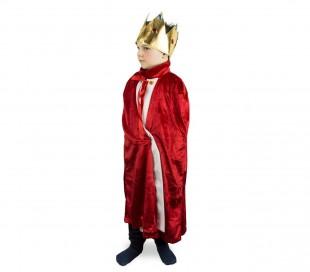3774bc4c288c2 ... 368721 Disfraz de carnaval para niños motivo IMPERADOR con corona  incluida