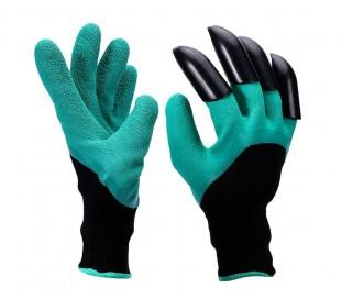 708004 Guantes para la jardinería con garras de plástico ABS para cavar