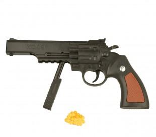 285503 Pistola revólver de juguete tambor de 6 mm con bolas incluidas