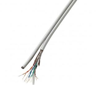 045360 Cable Ethernet 1 metro LAN CAT6 RJ45 contactos chapados en oro 10Gps