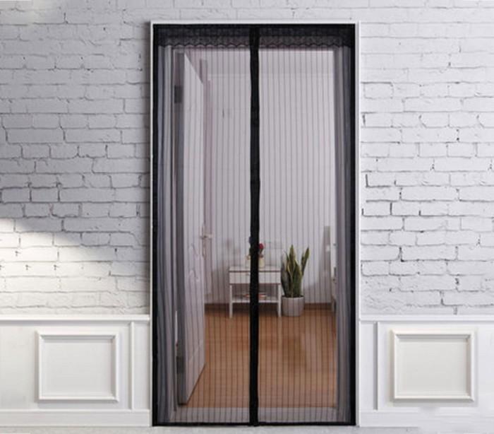 Mosquitera de cortina con cierre magn tico para jard n y for Cierre jardin