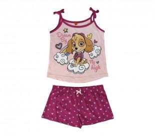 22-1971 Pijama PAW PATROL para niñas SKYE de algodón tallas 2 a 6 años