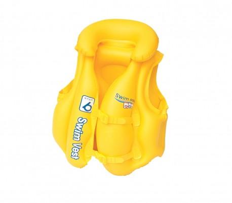 32034 Chaleco salvavidas inflable BESTWAY 51x46 cm Swim Safe ABC para bebés