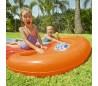 52208 Tobogán acuático doble H2O GO BESTWAY 549 cm para jardín