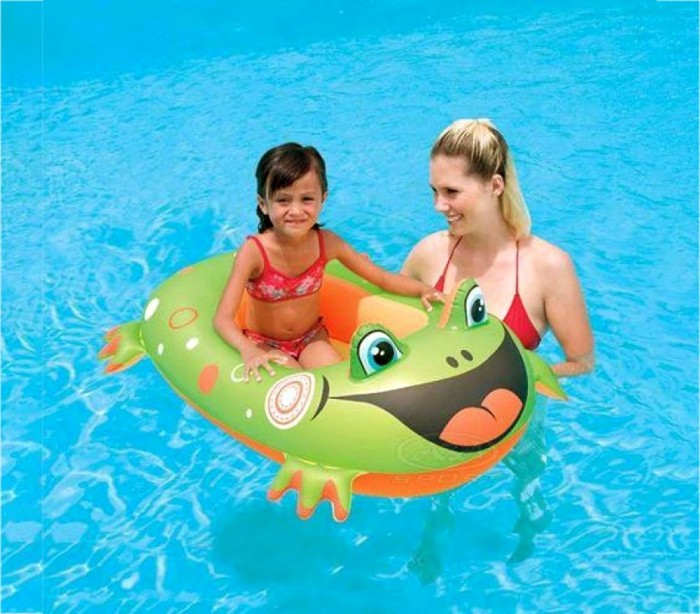 34085 piscina inflable bestway pool float 100 x 83 cm for Piscina inflable bestway