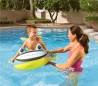 34085 Canoa FLOTANTE inflable para niños en forma de pez 107x98 cm Bestway