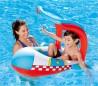 34100 Canoa en forma de avión inflable para niños BESTWAY Protección UV 102x97CM