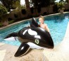 41009 Hinchable para niños en forma de ORCA gigante BESTWAY 203 x 102 cm