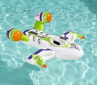 41094 Hinchable forma de nave espacial con pistola de agua incorporada 150x140CM