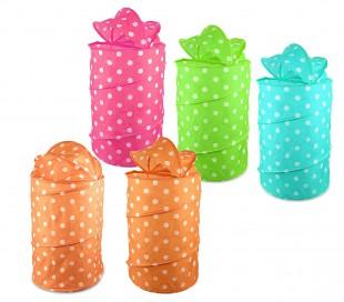 243039 Cesta plegable para juguetes o ropa 40 x 80 cm en fdifrentes colores