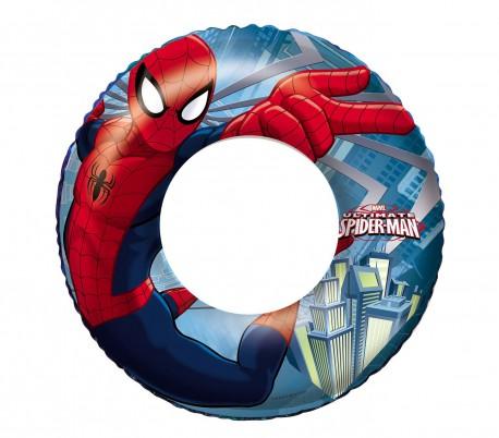 98003 Flotador para niños  BESTWAY motivo Spiderman 56 cm MARVEL