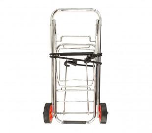 444005 Carro plegable para maleta EVERTOP 86x43x35 carga máxima 30 kg