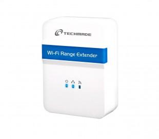 Techmade Wi-Fi Extender Repetidor WNPRP002 para redes inalámbricas 300N 802.11b