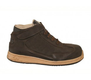 Botas de seguridad para hombre LEWER antideslizante mod. SP75 S3 linea DOT.IT