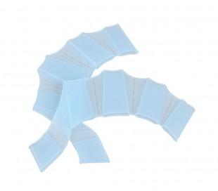 Pack de 2 guantes de silicona con forma de aletas para nadadores Snorkel