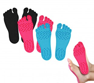 Pack de plantillas para la planta de los pies ADFoot antideslizantes y golpes