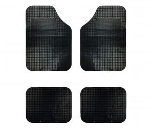 749137 Set de 4 alfombras para el coche AUTOSPRINT goma antideslizante universal