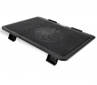 Soporte para notebook de 15 pulgadas GEMBIRD nbs-1F15-01 ventilador refrigerante