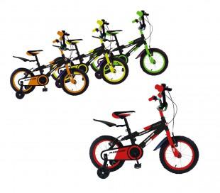 Bicicleta para niños FLASH LINE talla 14 FLA14 para niños de 3 - 6 años