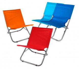 268636 Silla plegabable de colores ONSHORE para playa terraza montaña o piscina