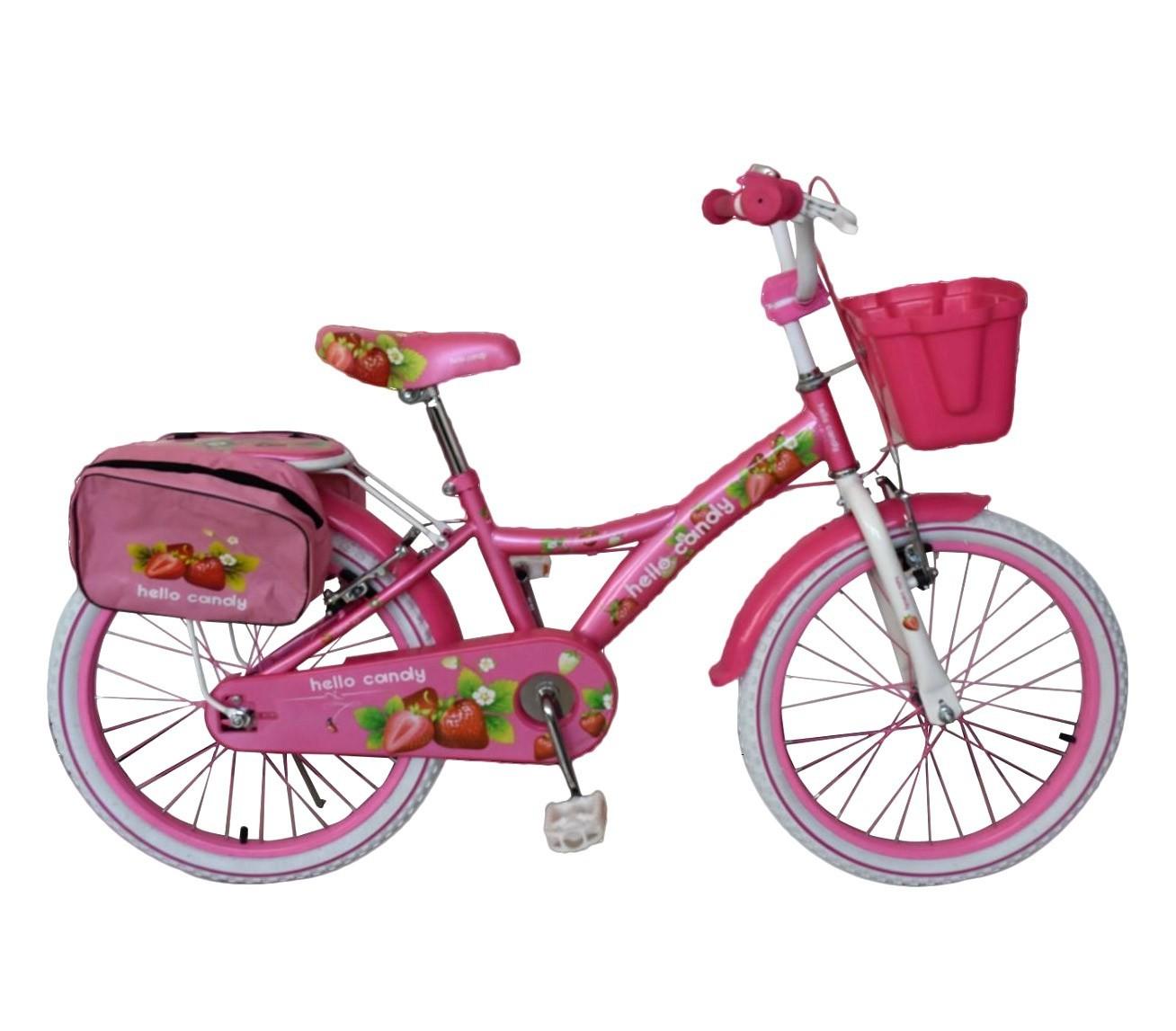 RS2009 Bicicleta para niña HELLO CANDY talla 20 marco en acero edad 6