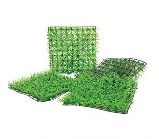 036392 Rachola de césped sintético realista para jardín 25x25 cm