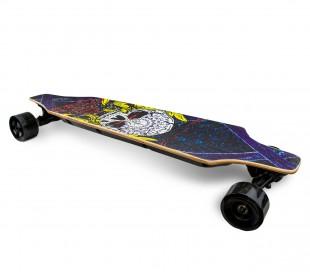 Skateboard eléctrico 90 cm BSCI SLAV con control remoto inalámbrico 15km/h SKULL