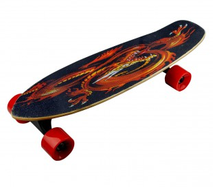 Skateboard eléctrico 70cm BSCI FUSE control remoto wireless 15km/h GOLD DRAGON