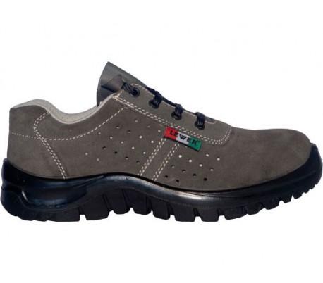 Zapatos de seguridad unisex LEWER antideslizante SCAMOSCIATE 3100B S1 CLASSIC