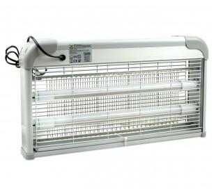 389249 Lámpara anti-mosquitos e insectos DHOMTECK con 2 LED 2W LED UV con cadena