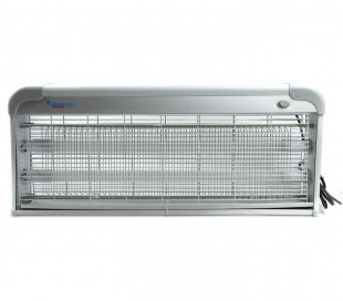 392201 Lámpara anti-mosquitos e insectos DHOMTECK con 2 LED 4W LED UV 64x8x27 cm