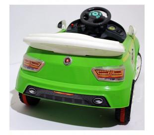 Coche eléctrico para niños MASHA y OSO 6V GVC-7209 con luces efecto LED MP3