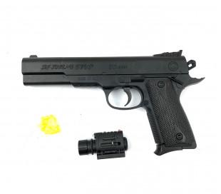397233 Pistola de juguete CIGIOKI con puntero de 6 mm y bolas incluidas 45 Magnu