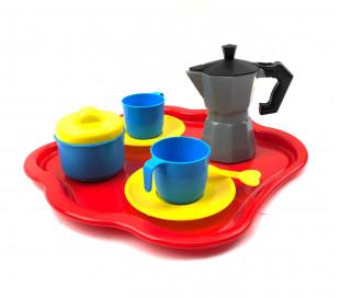 452493 Juego de café para niños CIGIOKI con 10 accesorios y golosinas