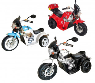 MOTO para niños deportiva 6V GVC-534 eléctrico con luces, música y efecto humo