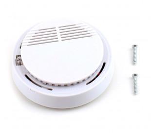 17330 Detector de humo SMOKE ALARM automático redondo con tornillos de montaje