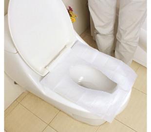 055991 Paquete de 10 piezas de toallitas para inodoro desechables línea DOLLY