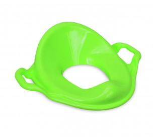11107 Asiento reductor WC infantil / ergonómico - con respaldo alto - doble asa