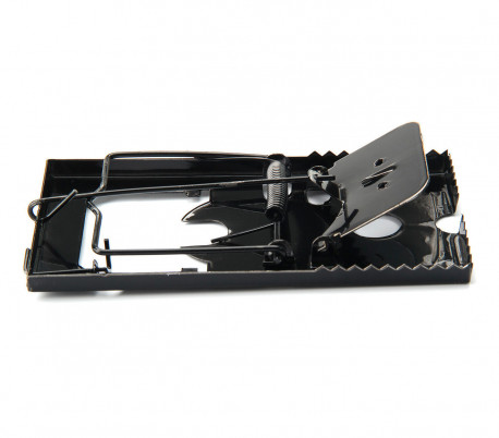 331446 Atrapa ratones DHOMTEK con guillotina de resorte a presión de 8.5x16x1 cm