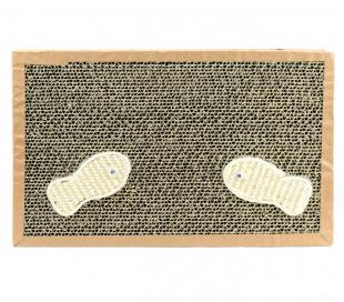 026432 Rascador NOBLEZA para gatos cartón perfumado 38.2x23x4 cm FISHING Box