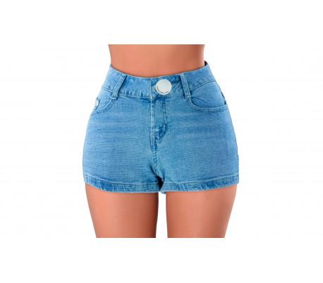 diseñador nuevo y usado online seleccione para el último Shorts tejanos cortos ajustados para mujer modelo FORBIDDEN ZONE varia