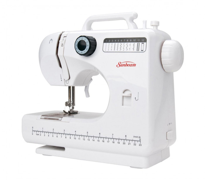 851186 Máquina de coser SEW and SEW 12 patrones seleccionables con 2 v