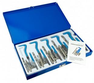 Kit de 131 piezas de reparación de hélices macho con maleta