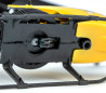 Mini helicóptero con LED Predator controlado por radio con doble hélice